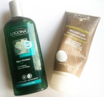 Logona Ginkgo Shampoo, Santé Haarspülung Brilliant Glanz